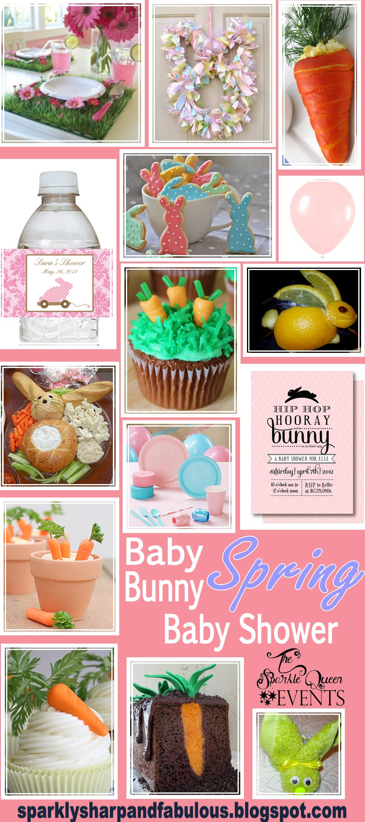 baby bunny spring baby shower in