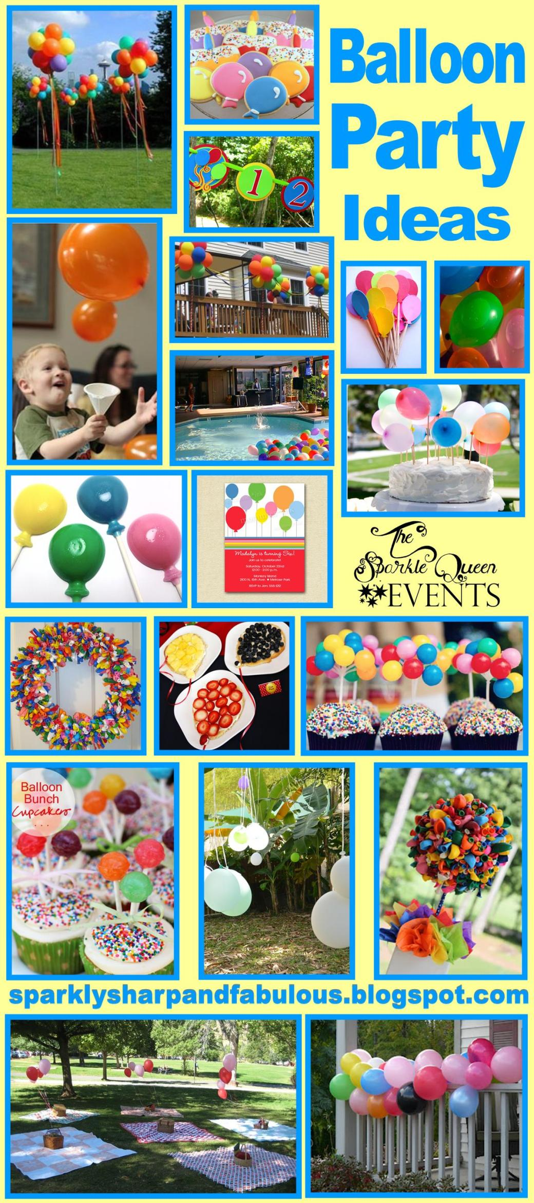Balloon Party Ideas