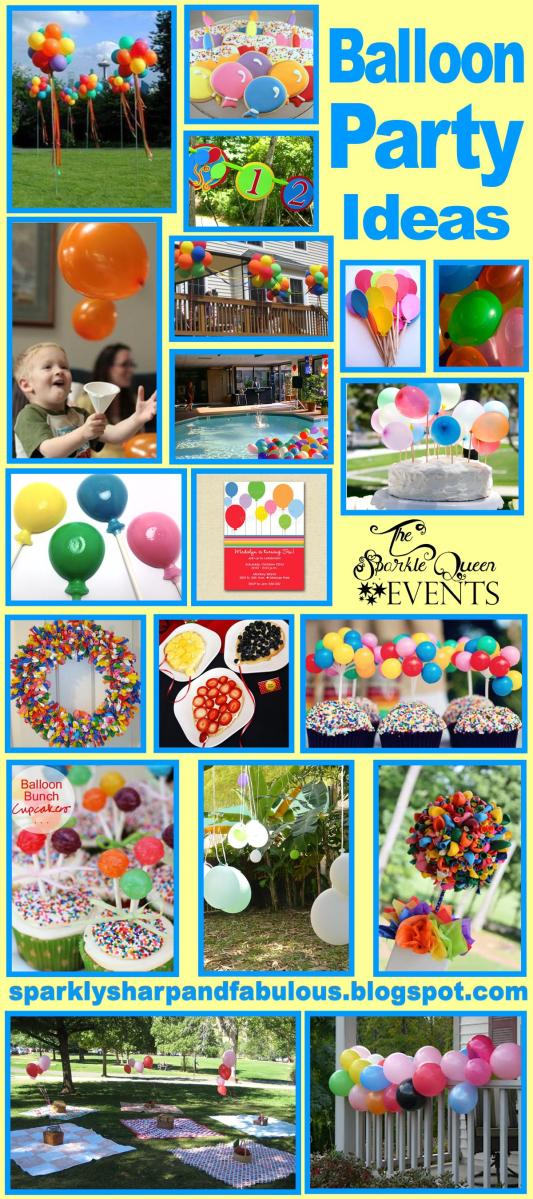 Balloon Party Ideas