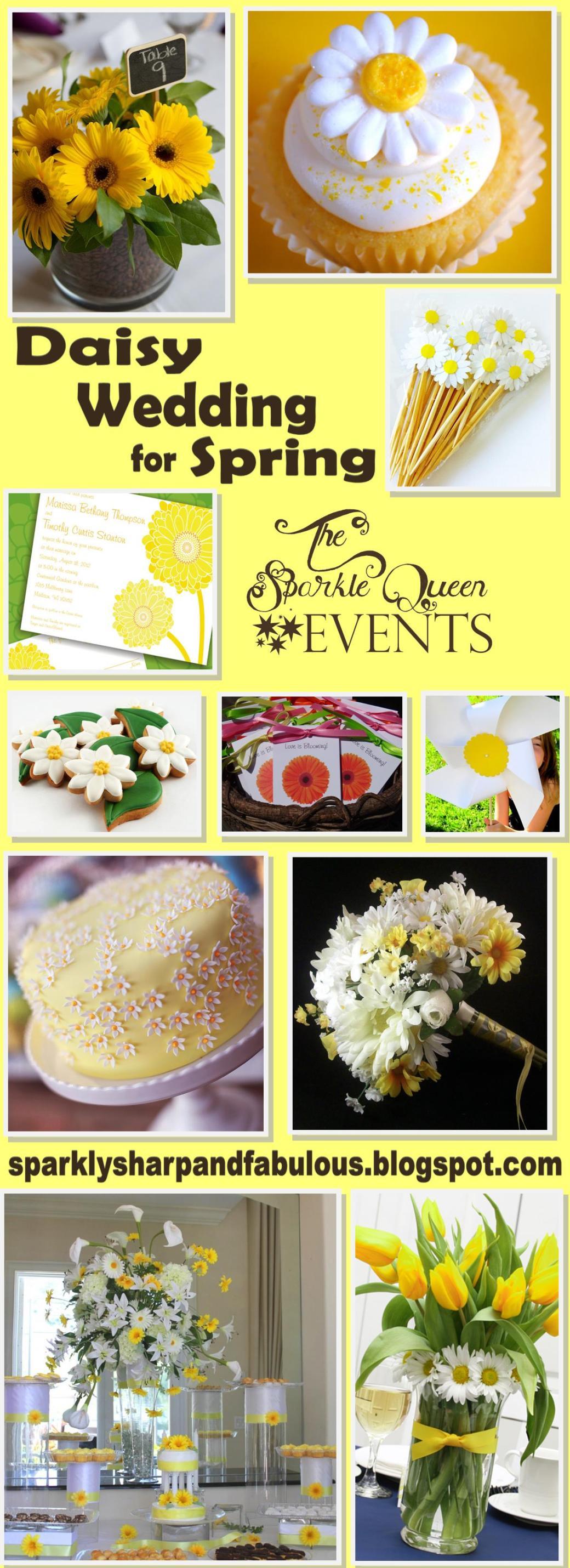 Daisy Spring Wedding
