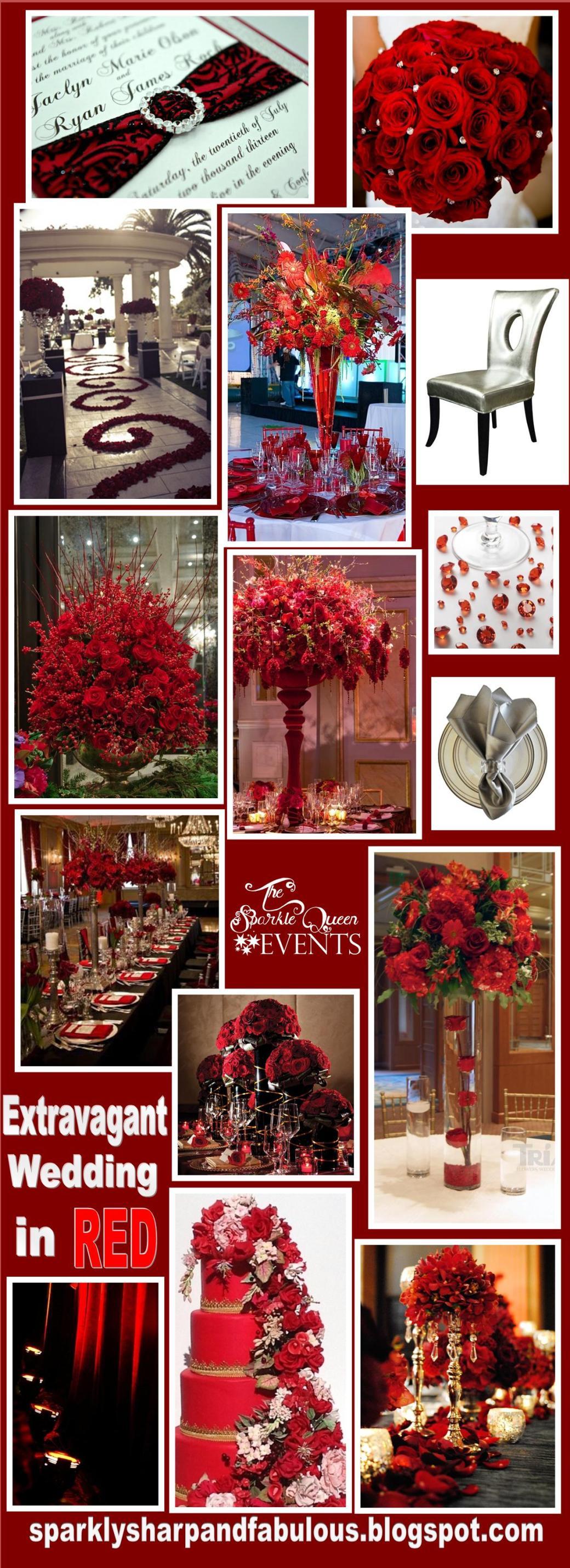 Extravagant Wedding in Red