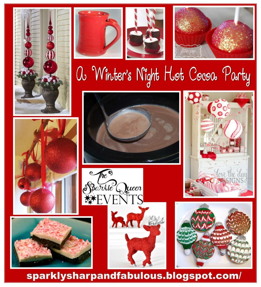 A Winter's Night Hot Cocoa Party