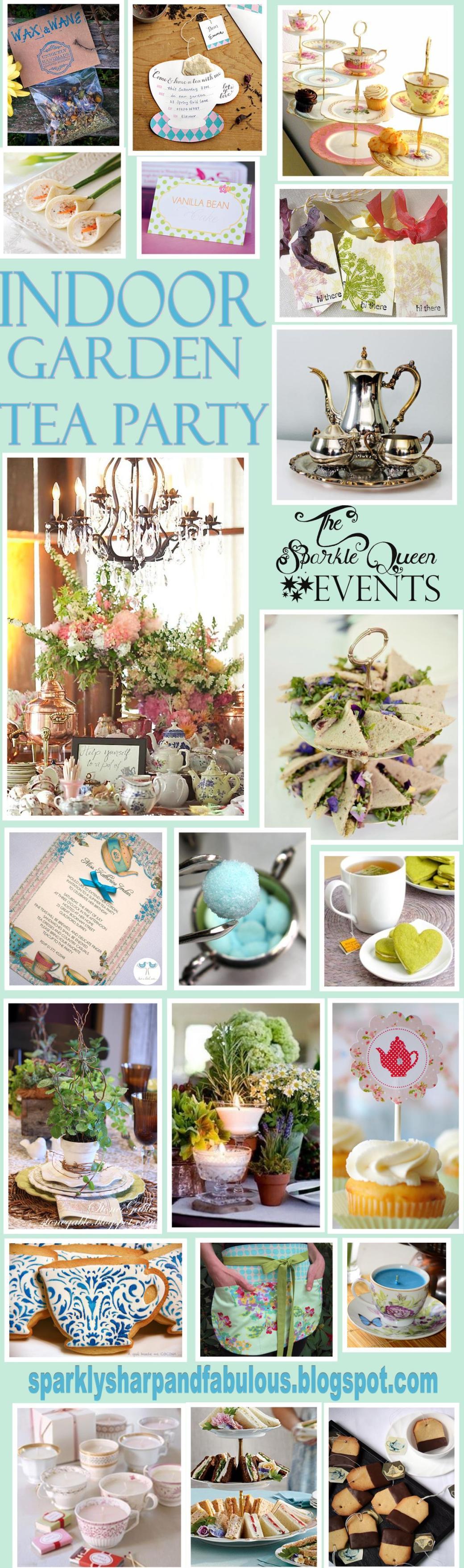 Indoor Garden Tea Party