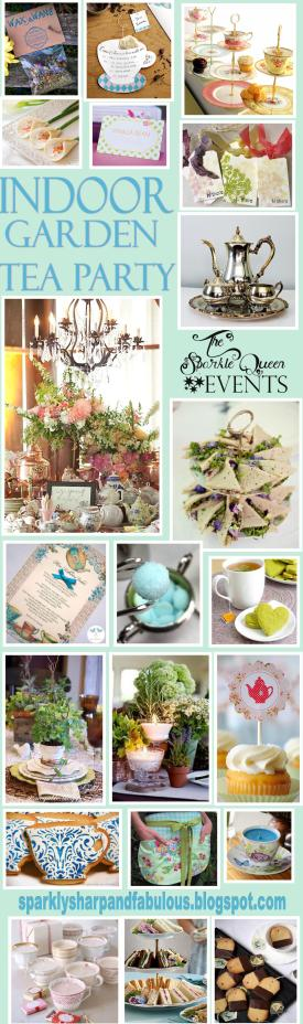 Indoor Garden Tea Party