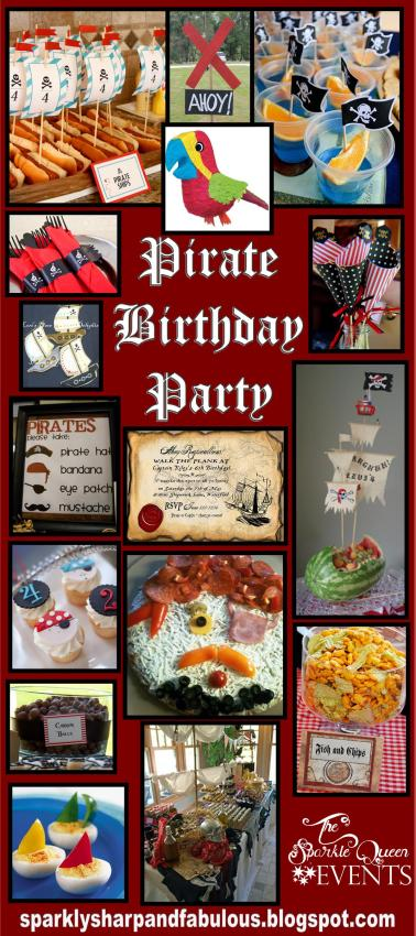 Pirate Birthday Party for Little Boys