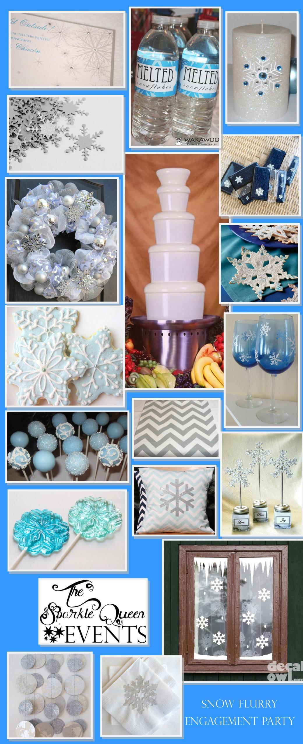 Snow Flurry Engagement Party
