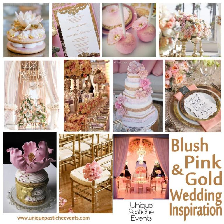 Blush Pink and Gold Wedding