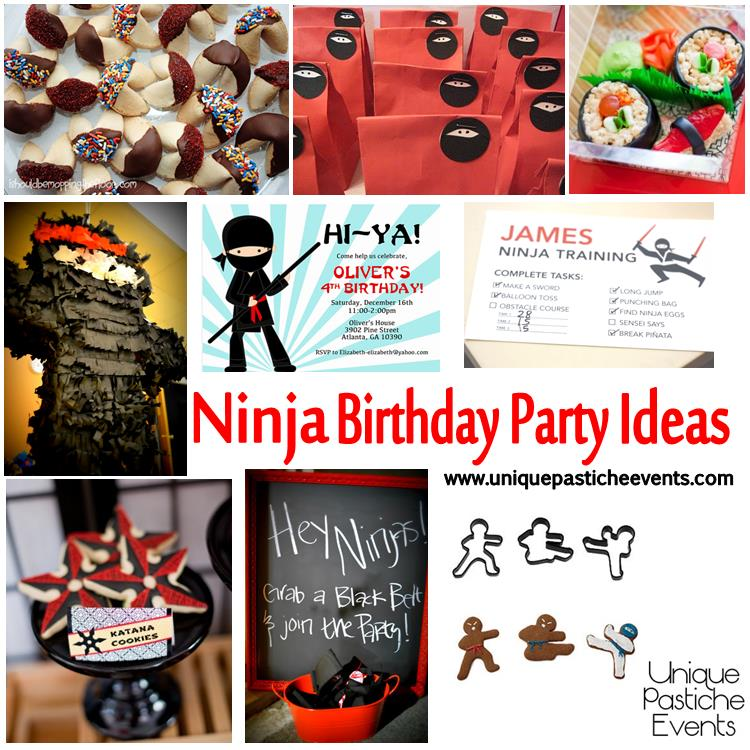 Ninja Birthday Party Ideas
