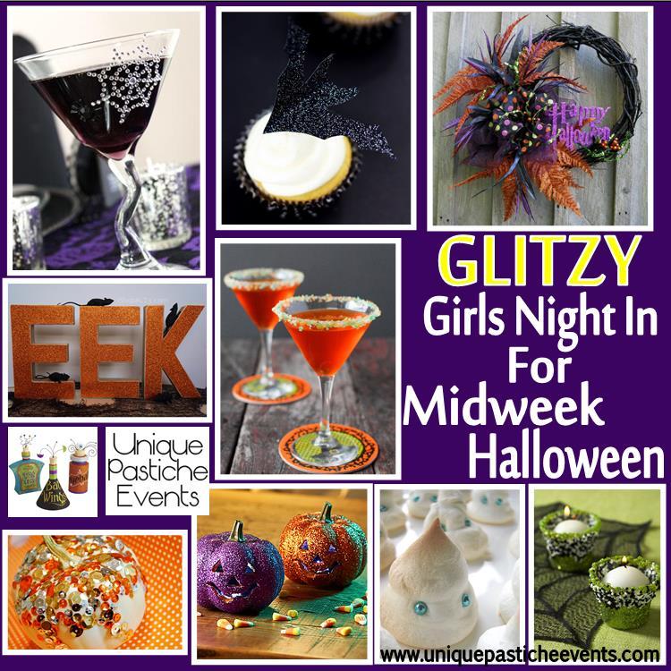 Glitzy Girls Night In {for Halloween}