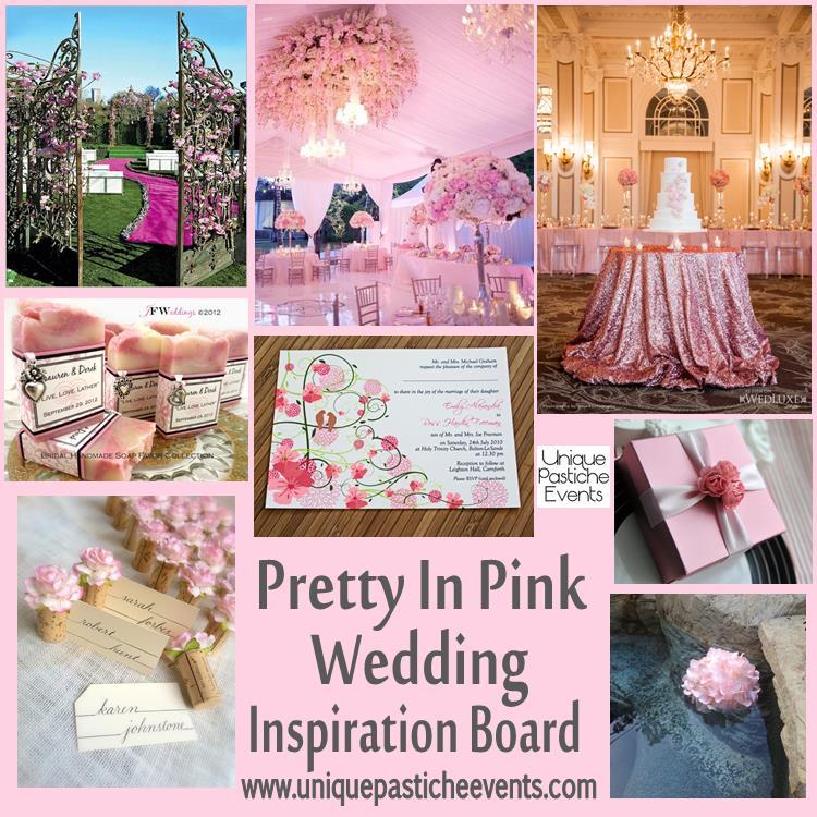 Pretty in Pink {wedding inspiration}