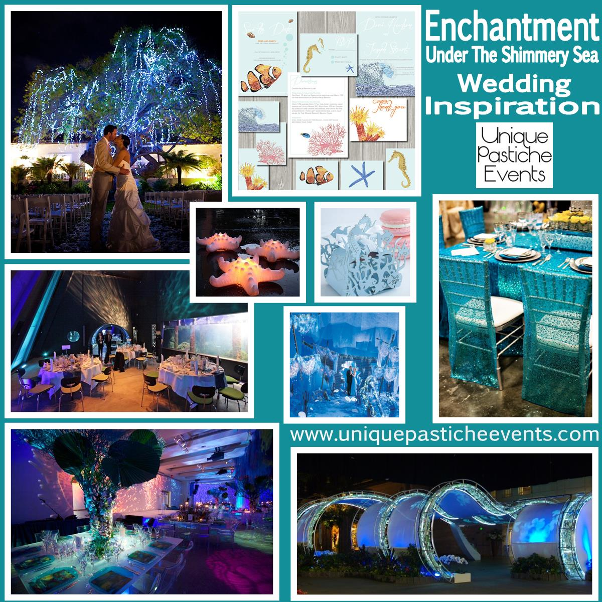 Enchantment Under The Shimmery Sea Wedding Inspiration