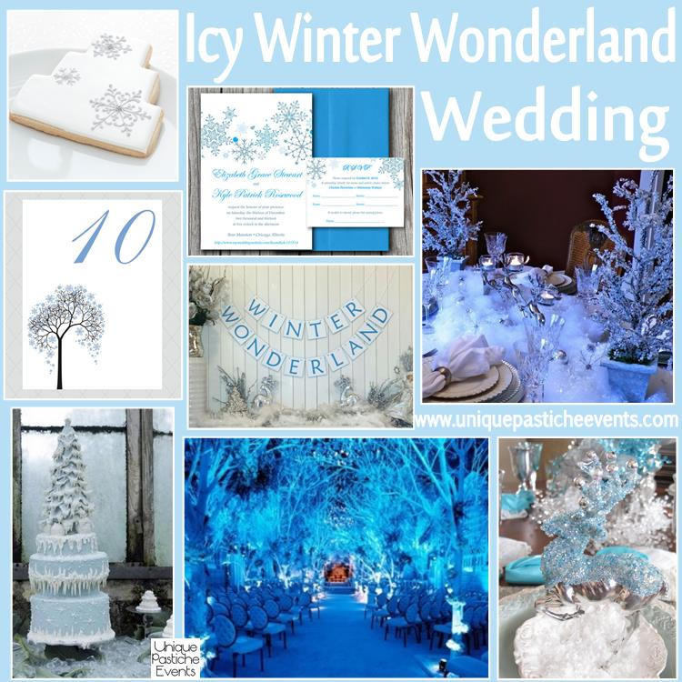 Icy Winter Wonderland Wedding