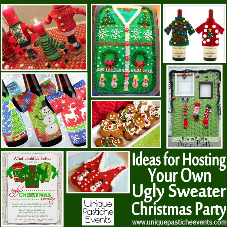 ideas for hosting your own ugly sweater christmas party see all the details here https