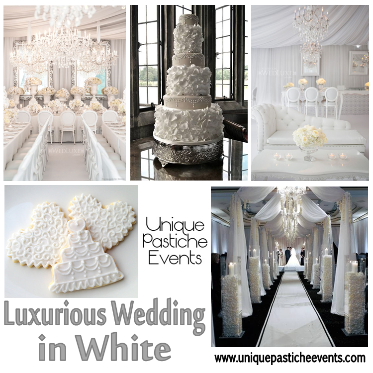 Luxurious Wedding in White