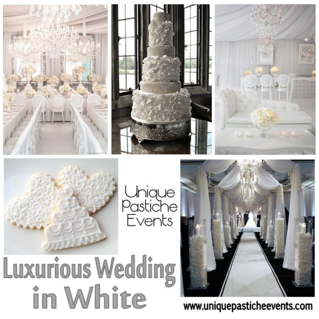 Luxurious Wedding in White