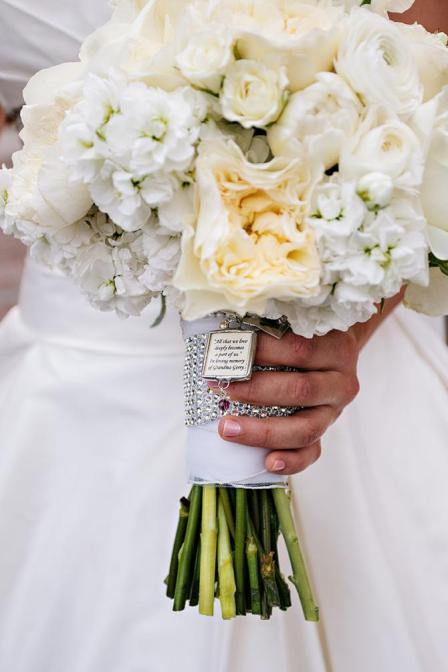 Wedding Bouquet In Memory Of Charms
