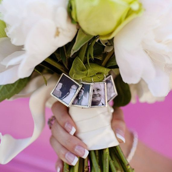 22 wedding bouquet memory charms ideas inspiration unique pastiche