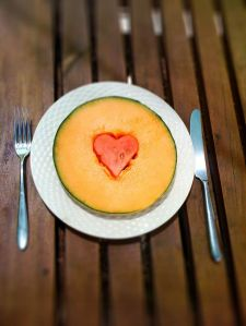 Heart Shaped Melon