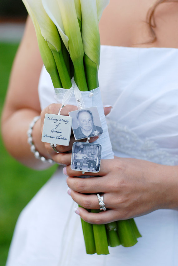 22 Wedding Bouquet Memory Charms Ideas Inspiration Unique