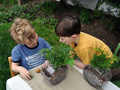 We Know Stuff shared this post about hosting a kids garden party, including activates