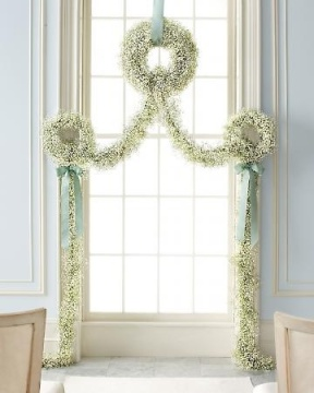 Baby's Breath Ceremony Garland