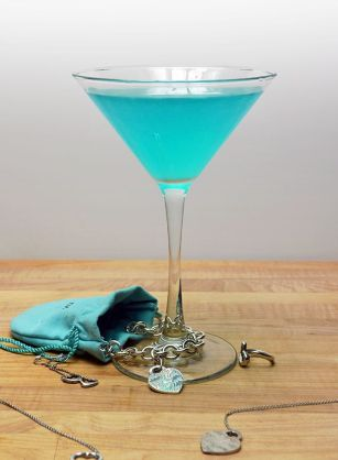 Tiffany Blue Cosmopolitan shared on Host the Toast