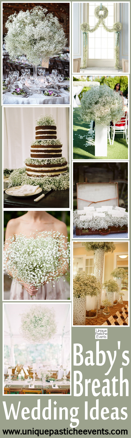 Baby's Breath Wedding Ideas and Inspiration