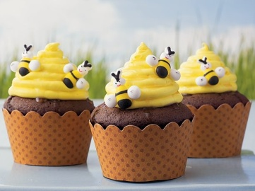 Beehive Cupcakes + Recipe – shared on Betty Crocker