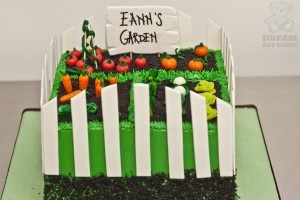 The Garden Cake was spotted on Pinterest