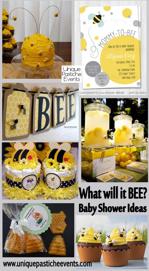 what will it bee baby shower ideas unique pastiche events