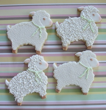 Lamb Cookies – shared by Marlyn B on Flickr