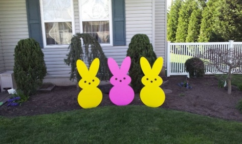Large Yard Art Peeps