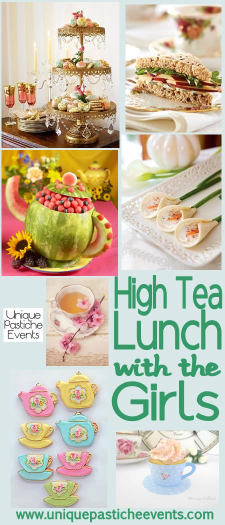 High Tea Lunch {With the Girls}