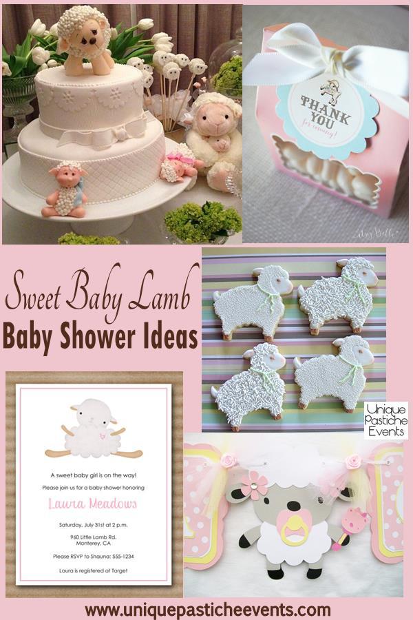 lamb baby shower ideas unique pastiche events