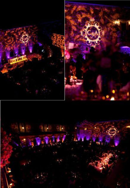 Wedding Lighting – shared on Belle Wedding Blog