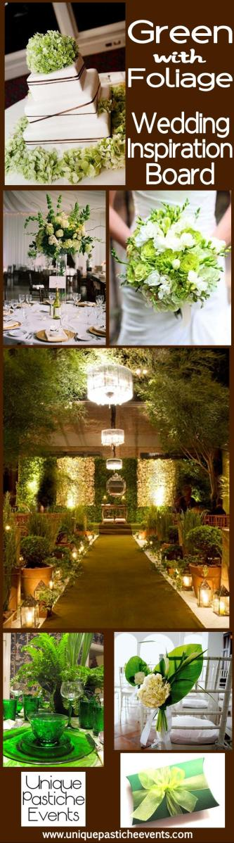 Green with Foliage - Summer Wedding Inspiration