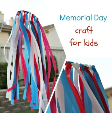 Memorial Day Wind Yard Décor – shared by Multiples & More