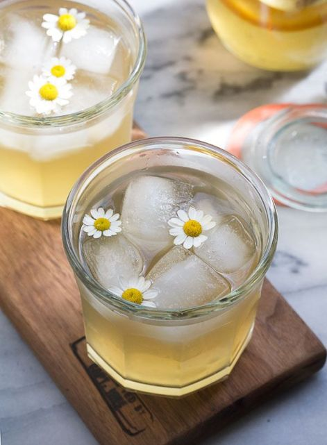 Chamomile Honey and Whiskey Cocktail – shared by A Cozy Kitchen