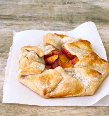 Peach Crostata – shared on Everyday Occasions by Jenny Steffens Hobick