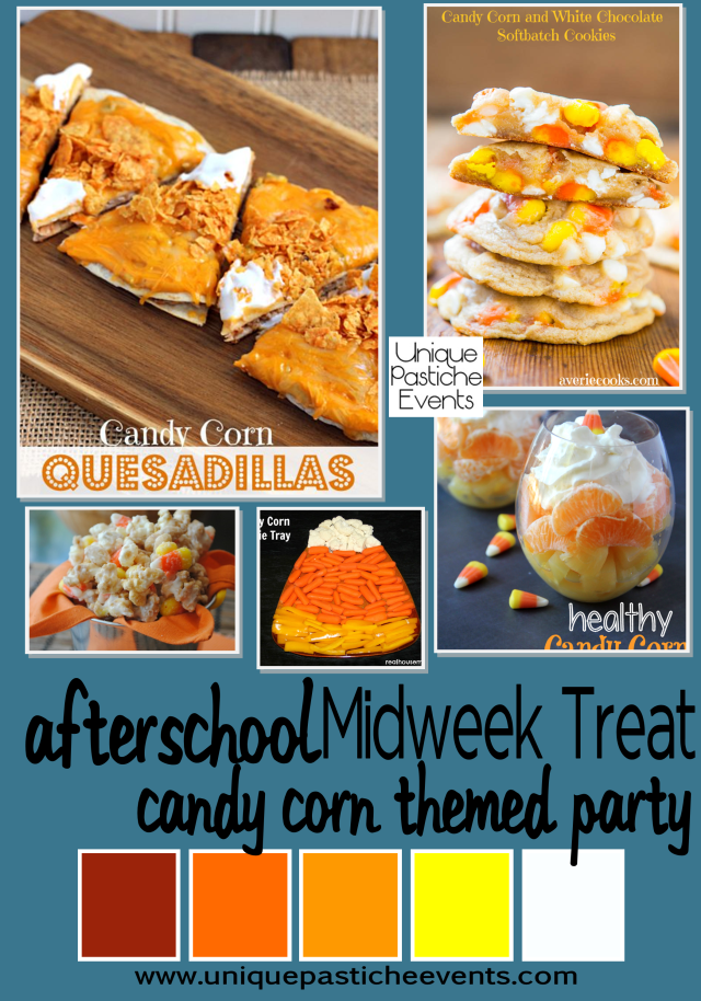 Afterschool Midweek Treat – Candy Corn Themed