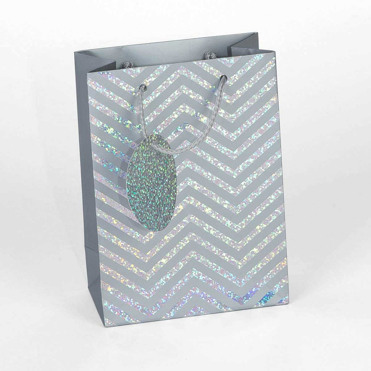 Holographic Waves Gift Bag – sold on Card Factory