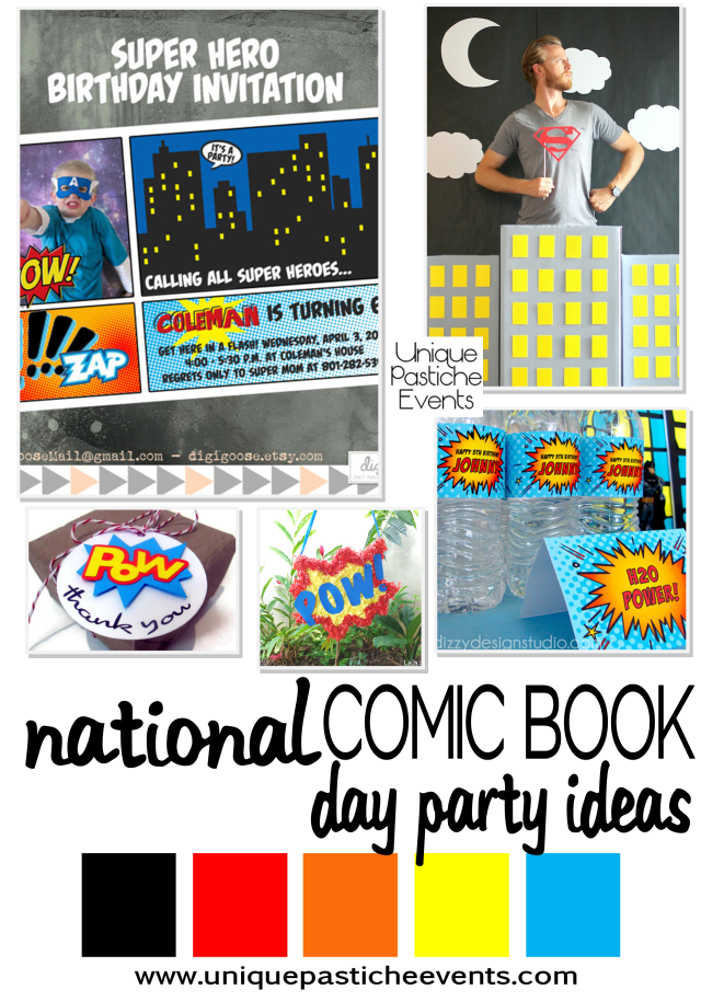 Comic Book Party Ideas