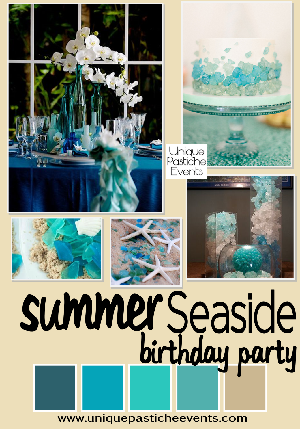 Seaside Summer Birthday Party