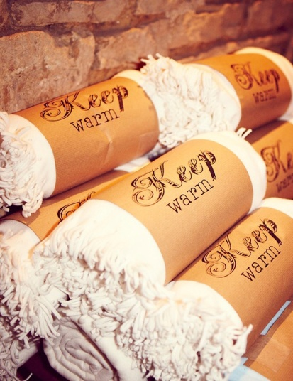 Keep Warm Guest Blankets – shared on Elle