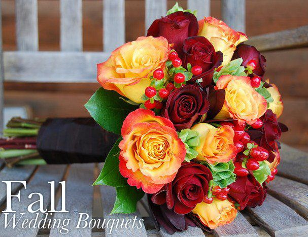 Fall Wedding Bouquet – spotted on Flower Shop Network