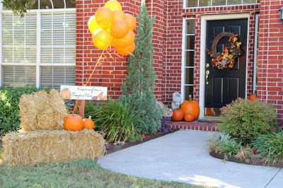 Welcoming Haystack Front Door – shared by Mix and Match Family