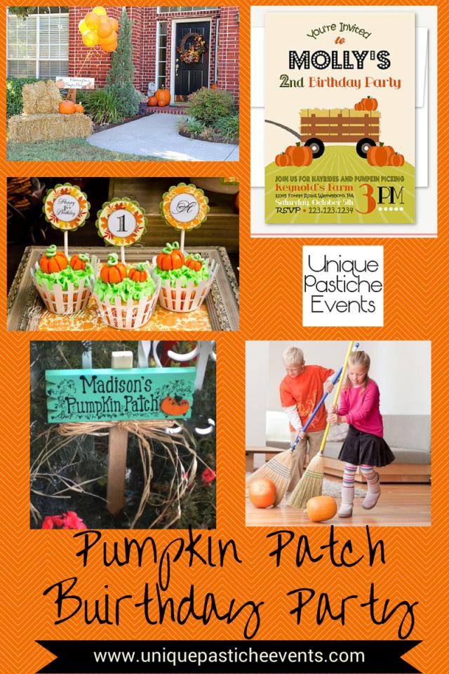 Pumpkin Patch Birthday PartyPumpkin Patch Birthday Party