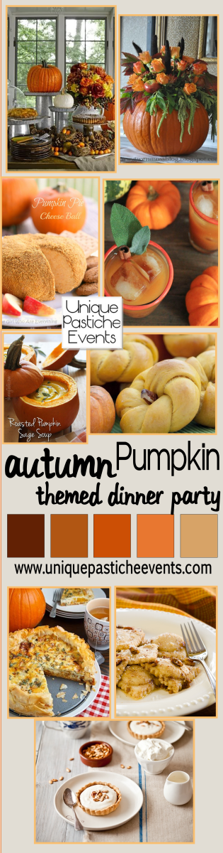 Pumpkin Themed Dinner Party Menu