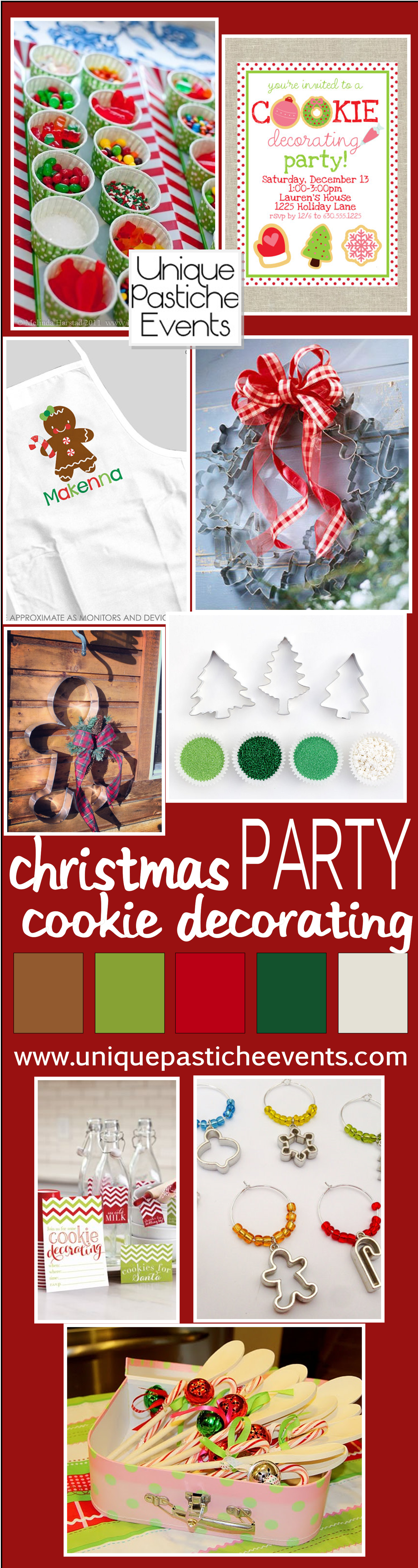 Cookie decorating party ideas - Christmas Cookie Decorating Party Ideas By Unique Pastiche Events