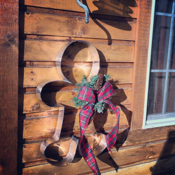 Giant Gingerbread Man Decor Made By Taylorshandmade On Etsy